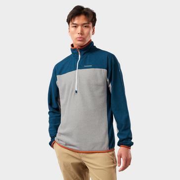 Blue Craghoppers Men's Galway Half-Zip Fleece