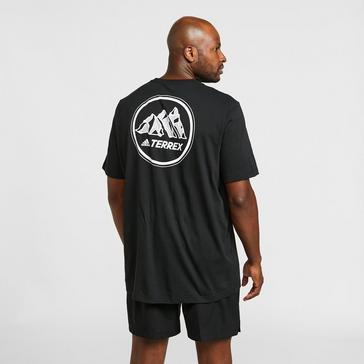 Black adidas Terrex Men's Terrex Mountain T-Shirt