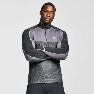 Grey Dare 2B Men's Power Up Half Zip Jersey