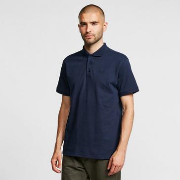 Navy Brasher Men's Calder Polo Shirt