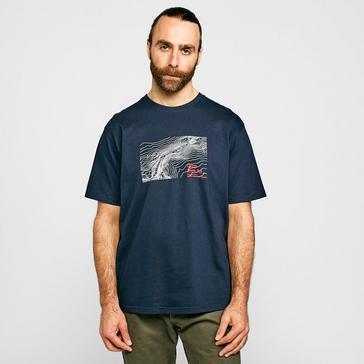 Navy North Ridge Men's Mam Tor T-Shirt