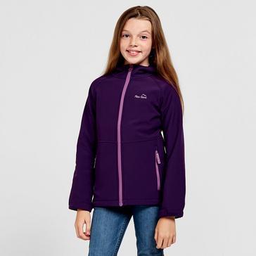 Purple Peter Storm Kids' Softshell Jacket