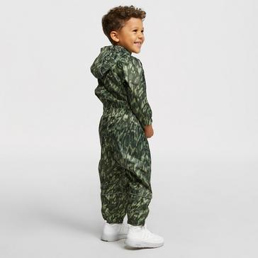 Green Peter Storm Kid's Waterproof Suit