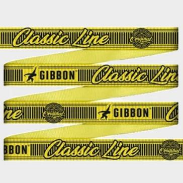 yellow GIBBON SLACKLIN Classic Slack Line 15m Set