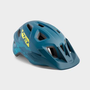 Blue Met Kids' Eldar Bicycle Helmet