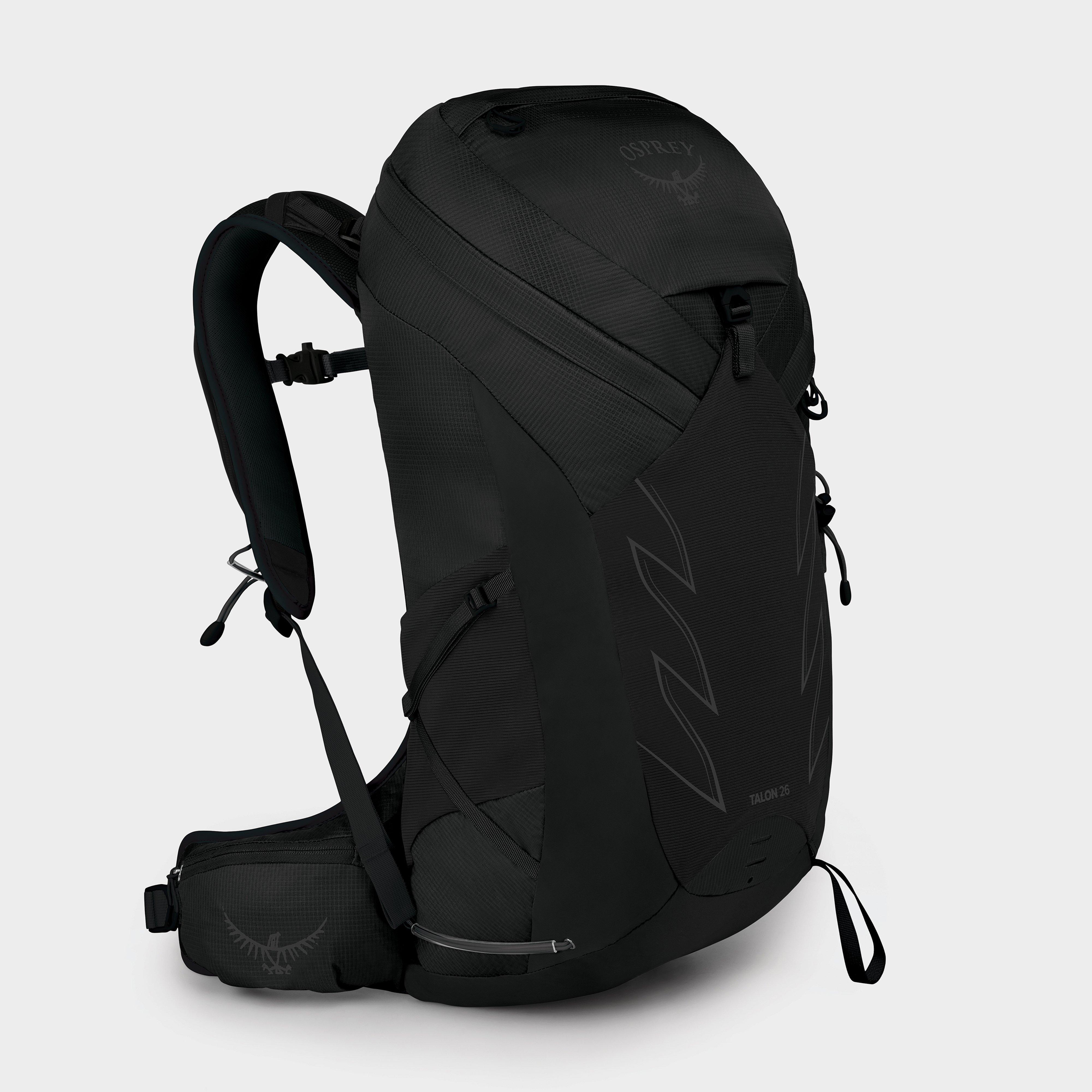 Osprey Talon 26 Daypack - Black/Black, Black