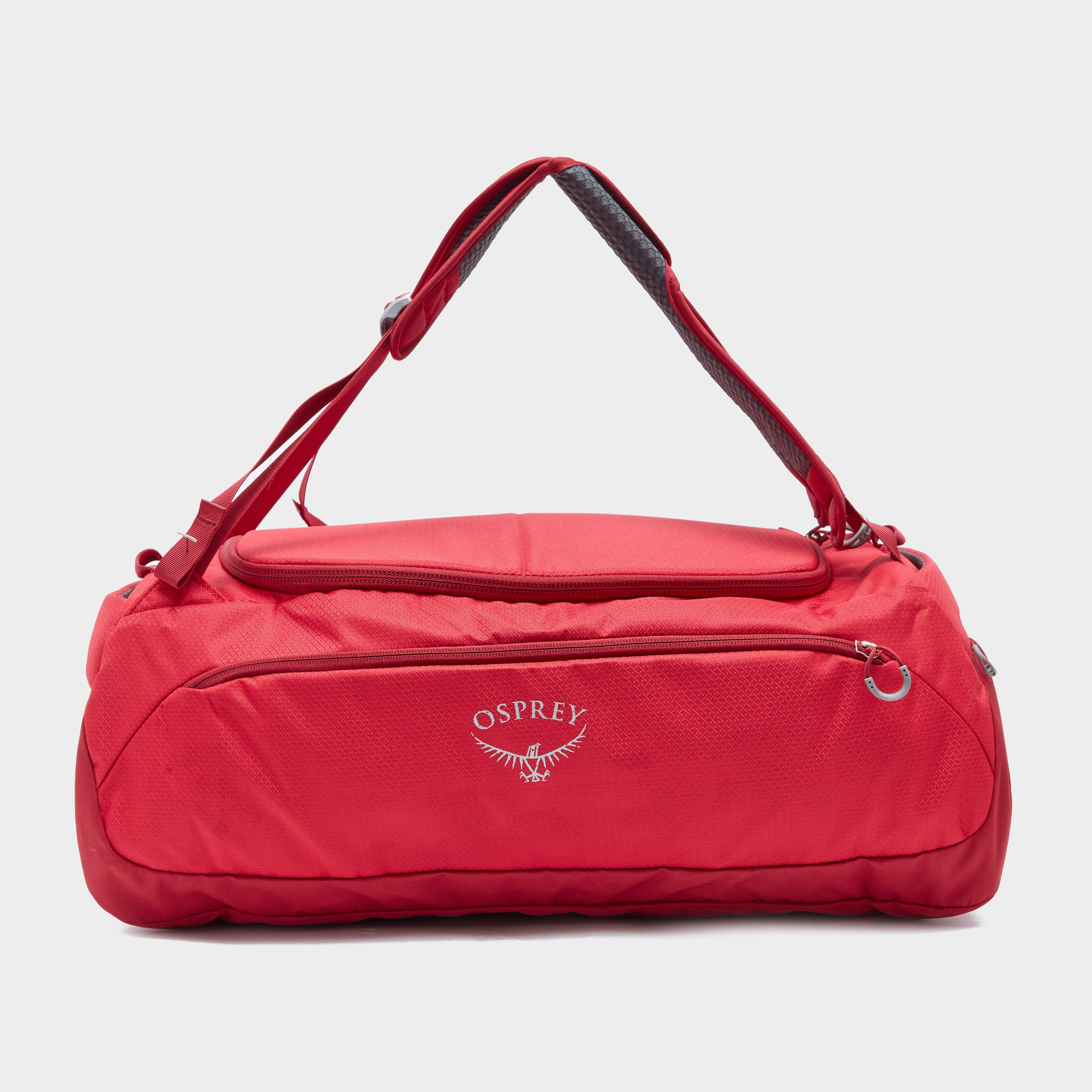 Osprey Daylite Duffel 45L Holdall - Red/Red, Red
