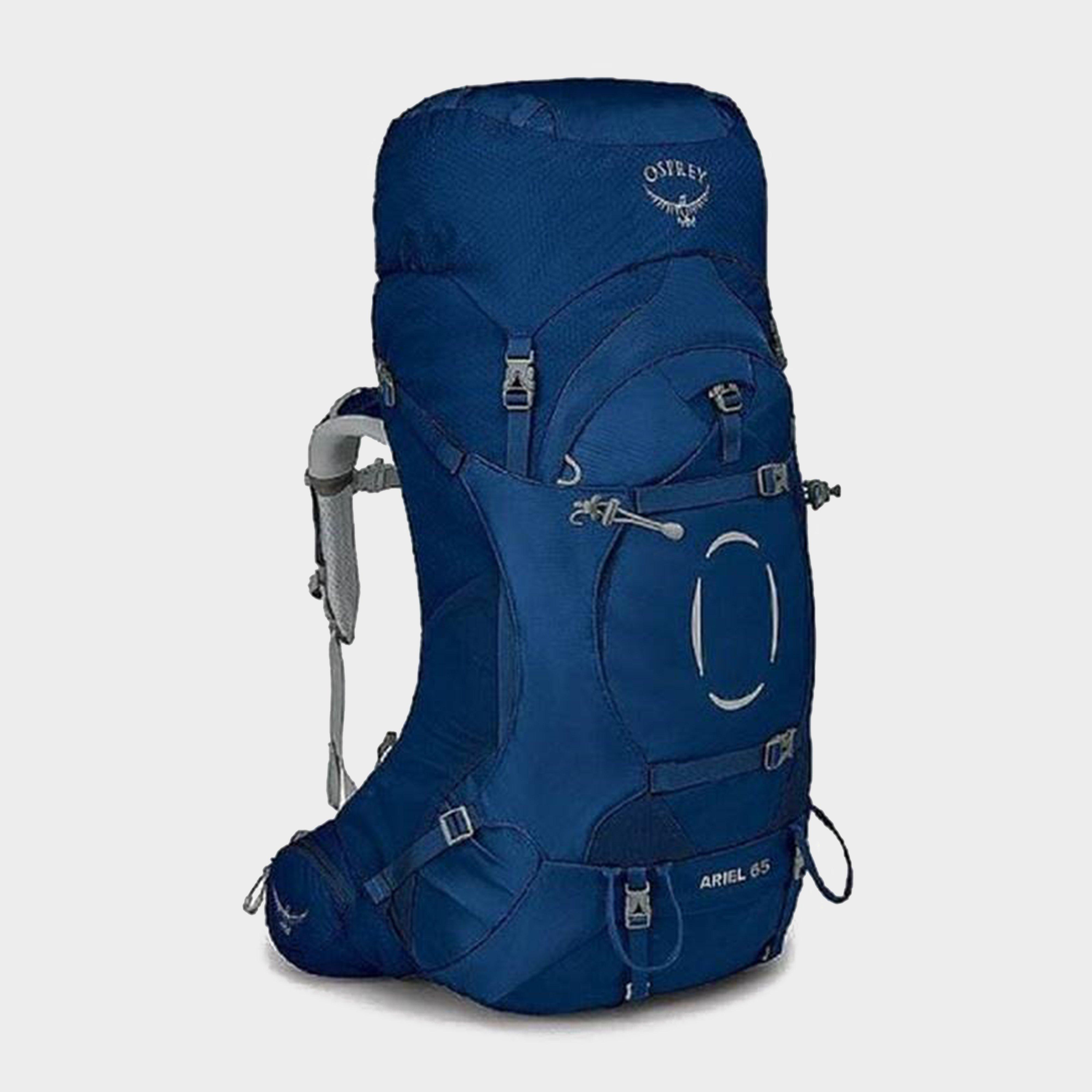 Osprey Ariel 65 Litre Rucksack - Blue/Blue, Blue