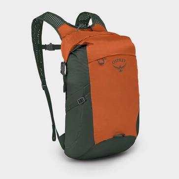 Orange Osprey Dry Stuff Daysack