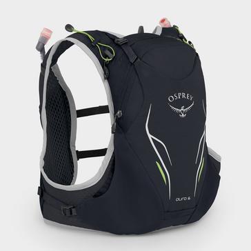Black Osprey Duro 6 Litre Hydration Pack