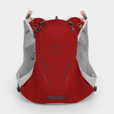 RED Osprey Duro 6 Litre Hydration Pack