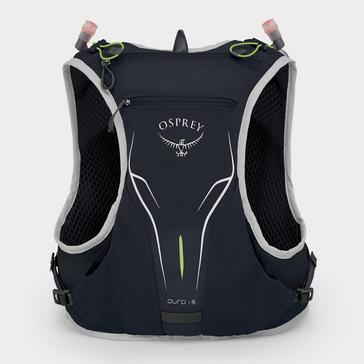 BLACK Osprey Duro 1.5 Litre Hydration Pack