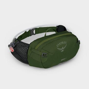 GREEN Osprey Seral 4 Hydration Pack