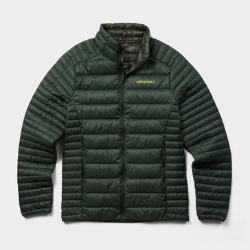 Green Merrell Men's RidgeVent™ Thermo Insulated Jacket