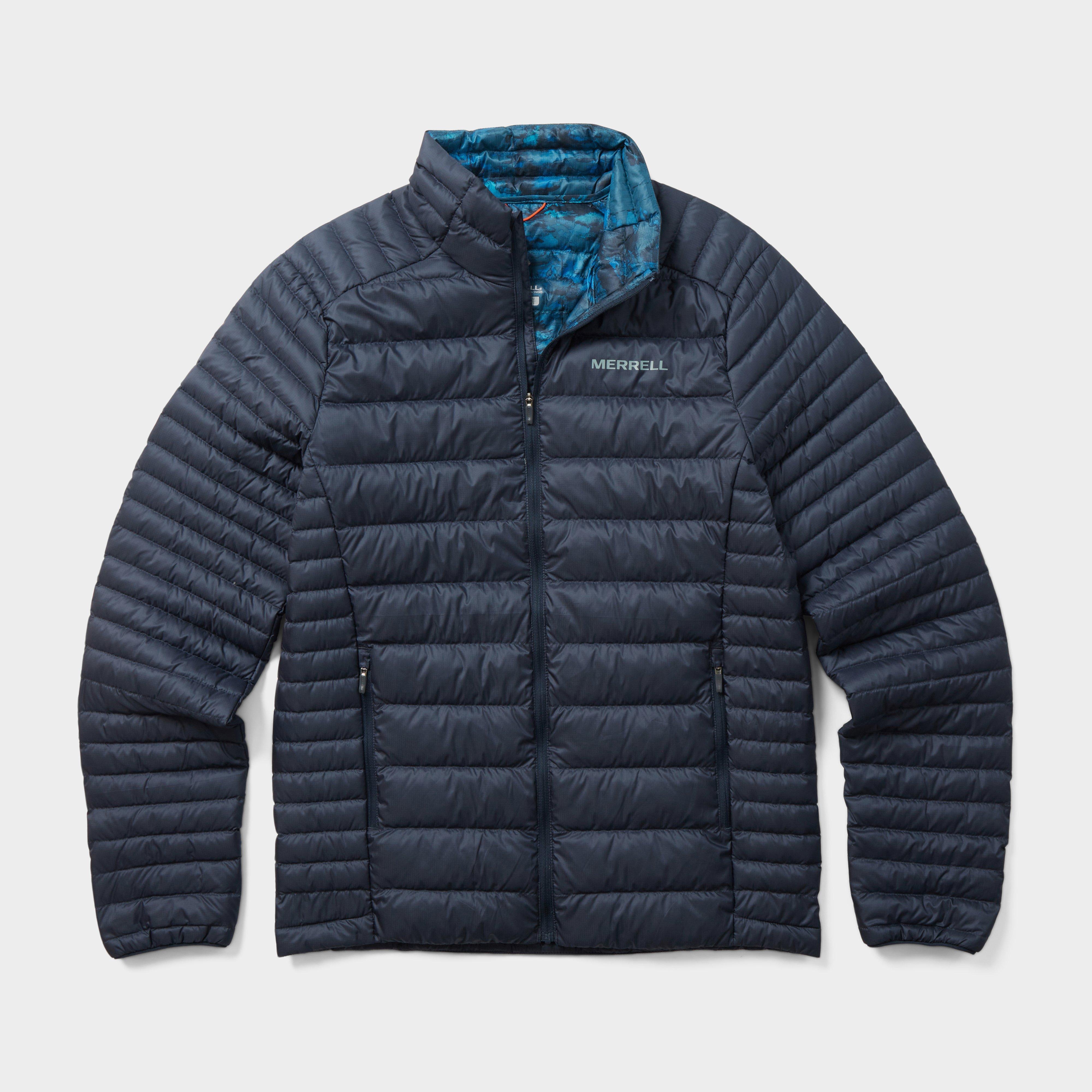 Merrell Men's Ridgevent Thermo Insulated Jacket - Navy/Navy Blue, Navy