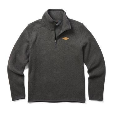 Grey Merrell Men's Sweater Weather Quarter-Zip Fleece