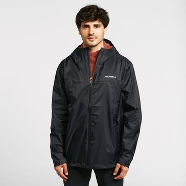 Black Merrell Men's Fallon Waterproof Jacket