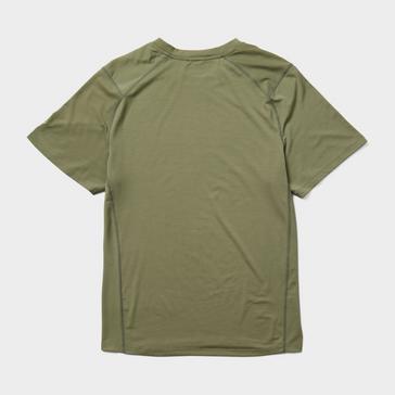 Green Merrell Men's Trek Short Sleeve T-Shirt