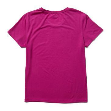 Pink Merrell Women's Tencel Short Sleeve Tee