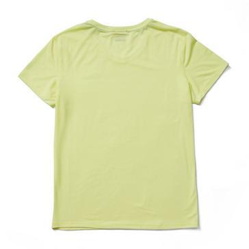Yellow Merrell Women's Tencel Short Sleeve Tee