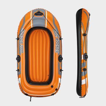 "ORANGE Hydro Force 74"" Kondor 2000 Inflatable Boat Raft"