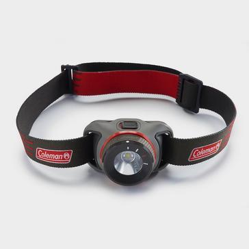 Black COLEMAN BatteryGuard 300L LED Head Torch