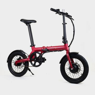 Red PERRY EHOPPER Perry Ehopper 16 inch Folding Electric Bike