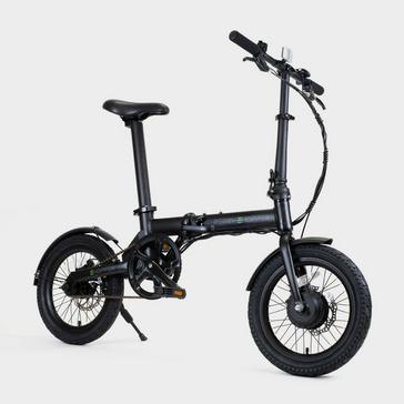 Black PERRY EHOPPER Perry Ehopper 16 inch Folding Electric Bike