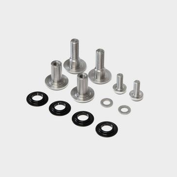 Silver Calibre Bossnut & Triple B Rocker Link Hardware Kit