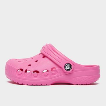 PINK Crocs Kids' Baya Clog