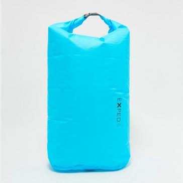 Blue EXPED Fold DryBag ClearSide (Large)