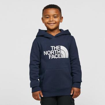 Navy The North Face Drew Peak Hoodie Junior