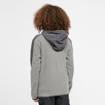 Grey The North Face Glacier Full Zip Hoodie Junior