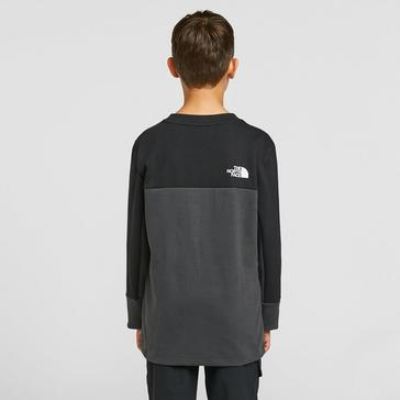 Grey The North Face Kids' Slacker Crew Neck Sweater