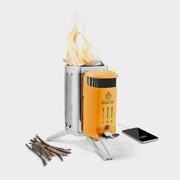 Silver BioLite BioLite Campstove 2+ Complete Cook Kit