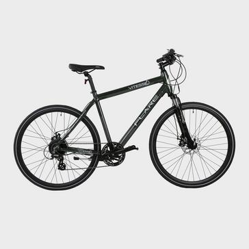 Black VITESSE Flare 700c Hybrid Electric Bike