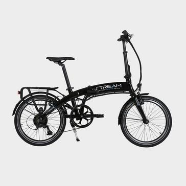 Black VITESSE Stream Folding E-bike