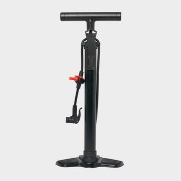 Black Compass Track Pump with Gauge