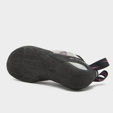 Grey EVOLV Women's Elektra Lace Climbing Shoe