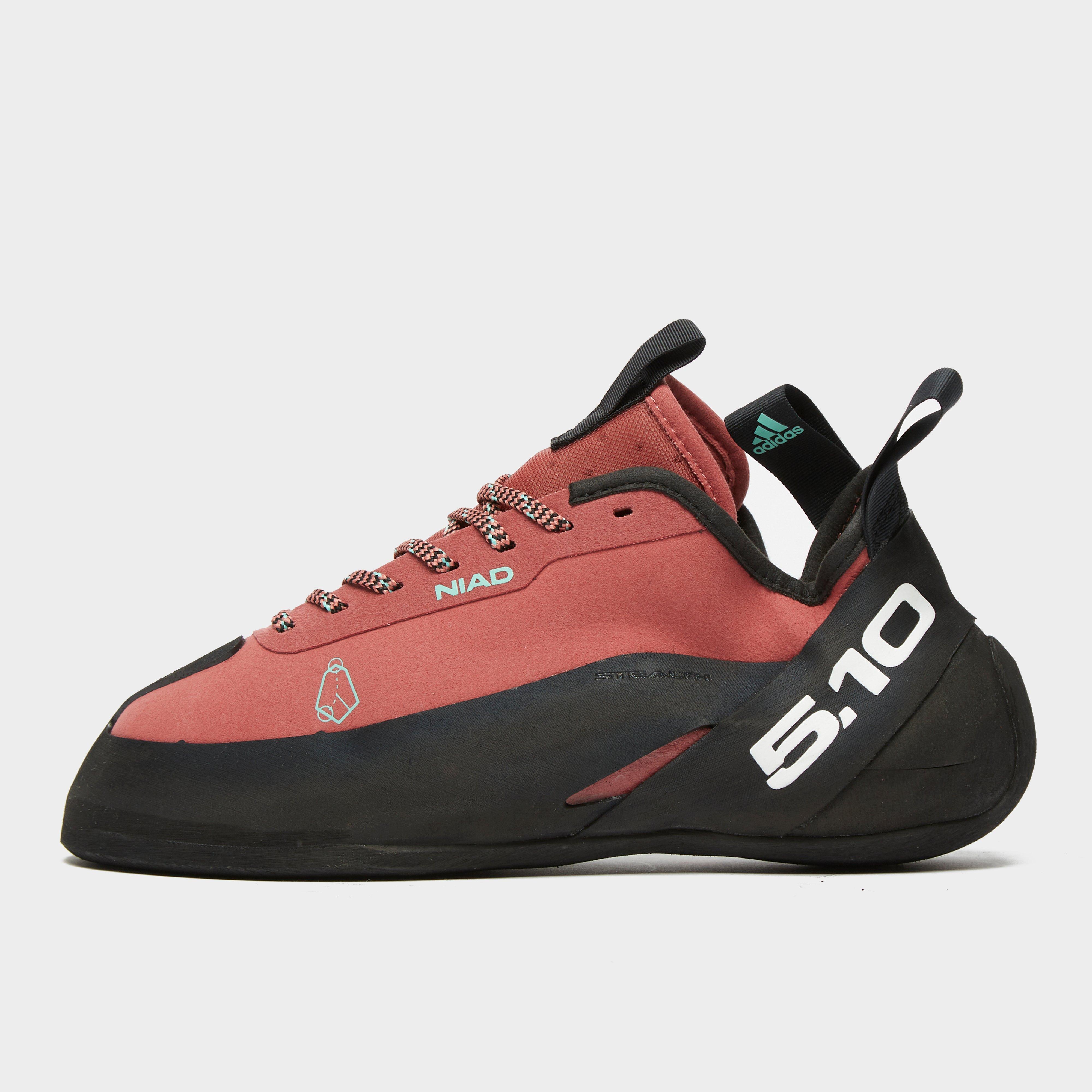 Adidas Five Ten Men's Five Ten Niad Lace Climbing Shoes - Red/Black, Red/Black