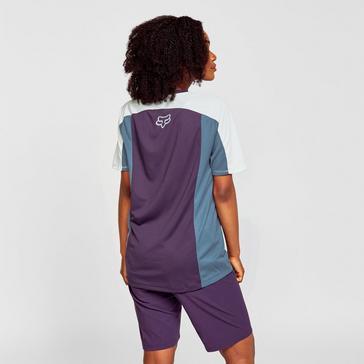 PURPLE Fox Women's Defend Short-sleeve Jersey