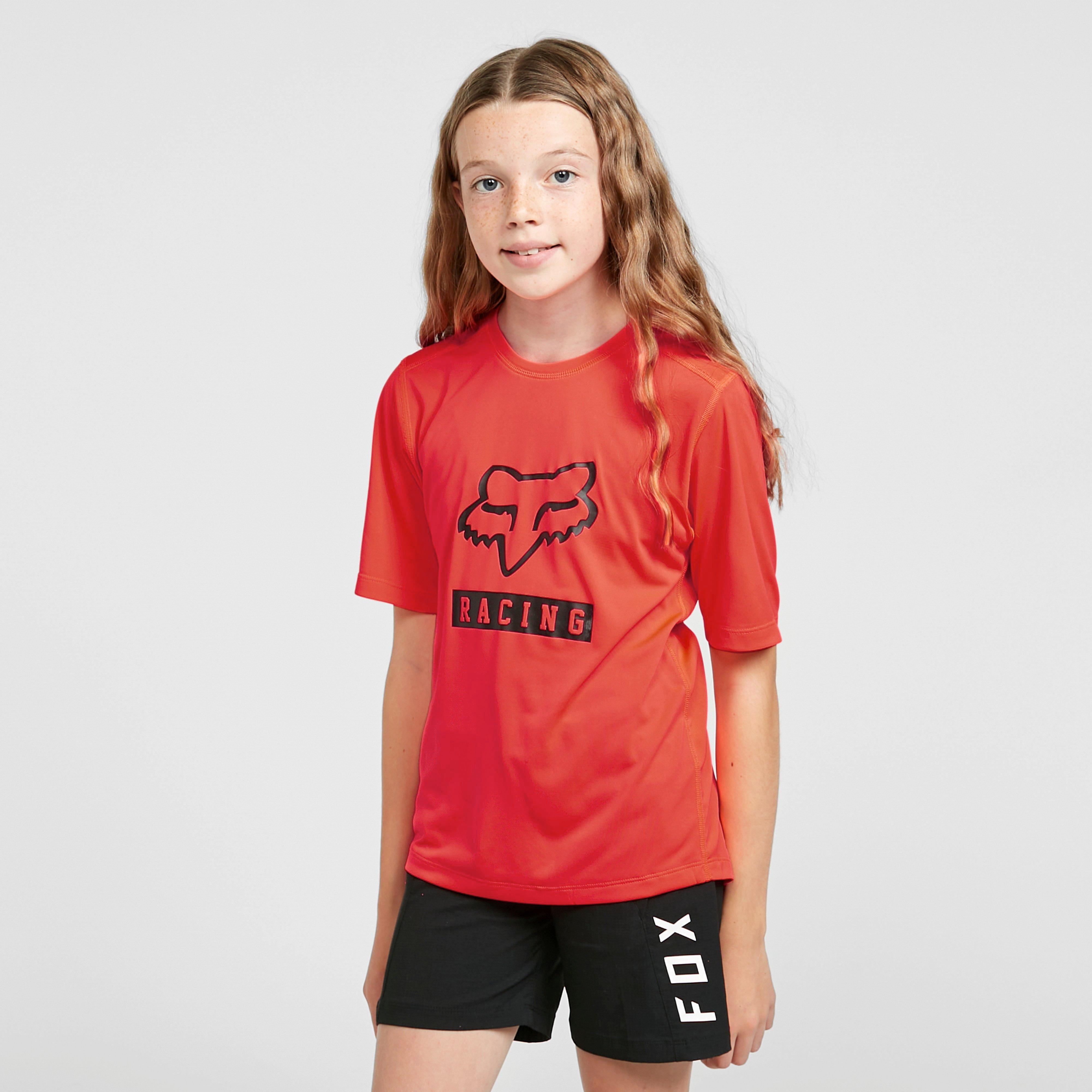 Image of Fox Youth Ranger Short-Sleeve Jersey - Orange/Orange, ORANGE/ORANGE
