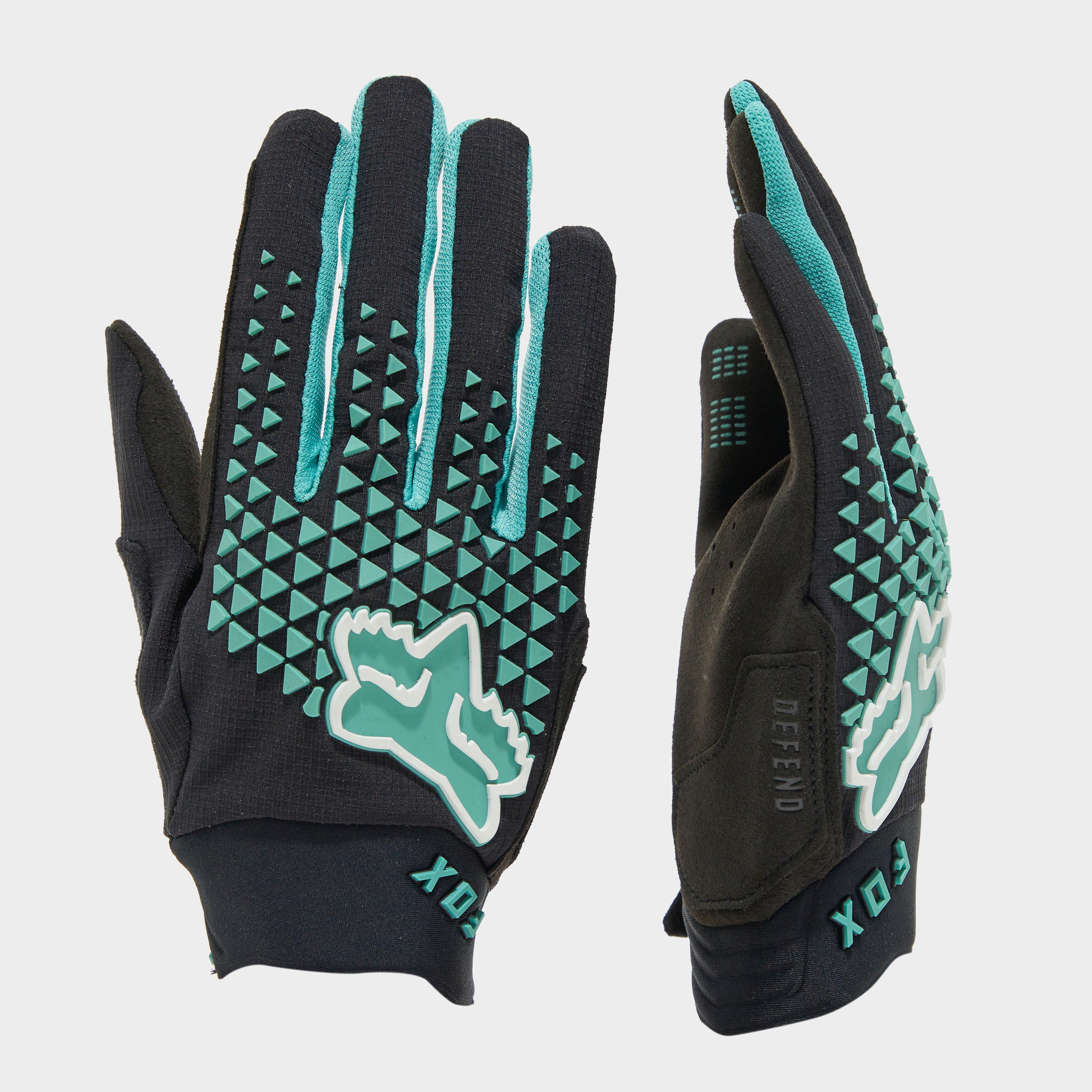 Fox Men's Defend Gloves - Black/Blue, Black/Blue