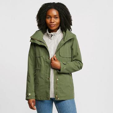 GREEN Regatta Women's Narelle Waterproof Jacket