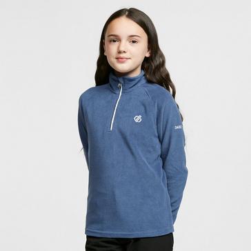 Blue Dare 2B Kids' Freehand Half-Zip Fleece