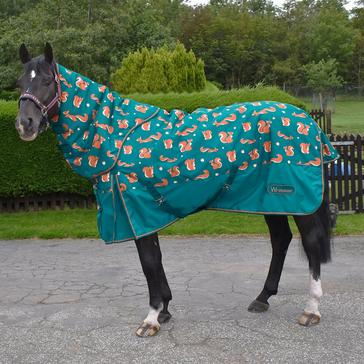 Blue Whitaker Knutsford Squirrel Combo Turnout Rug