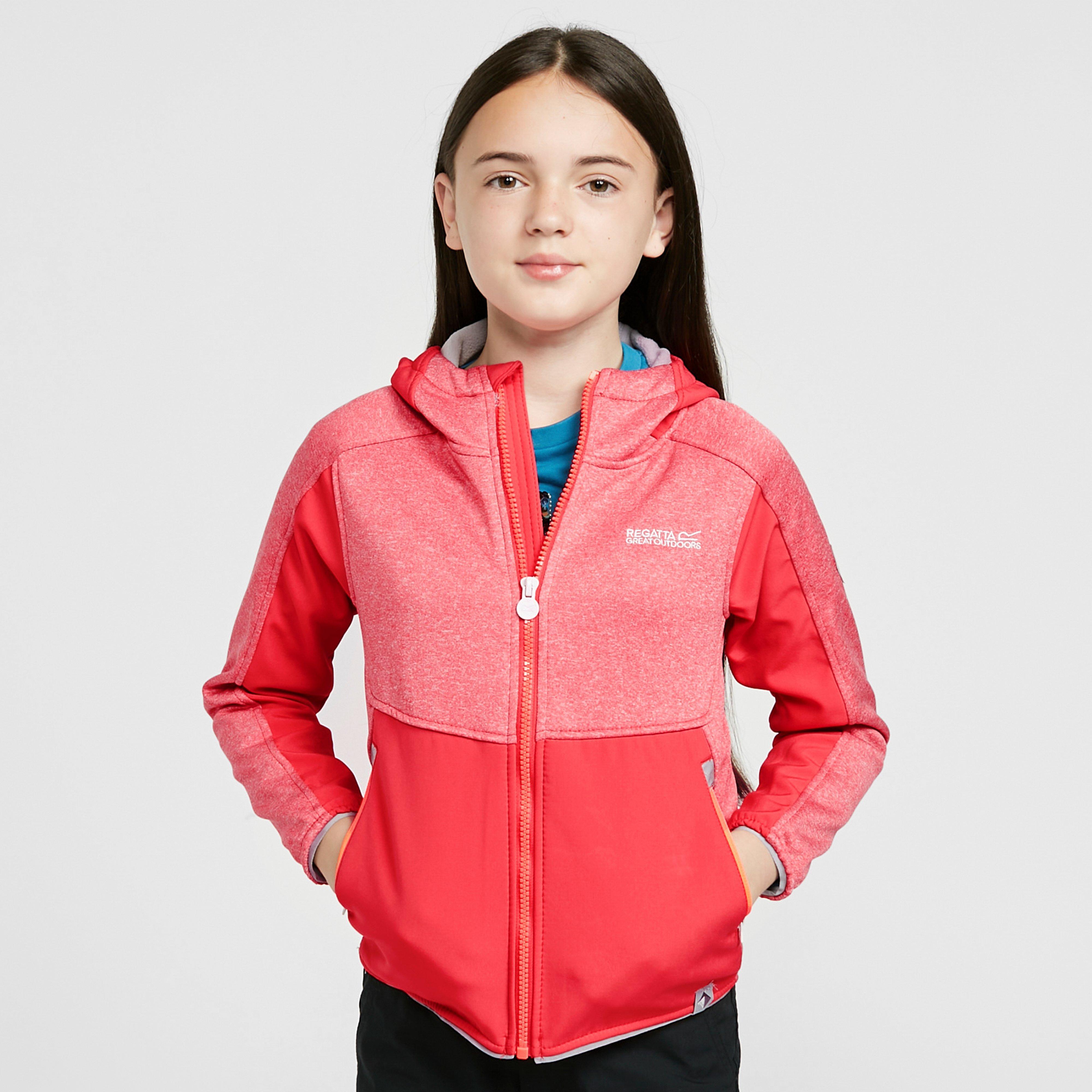 Regatta Kids' Bracknell Ii Softshell - Pink/Pn, Pink