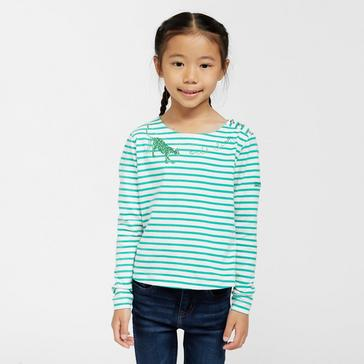 Green Regatta Kids Carmella II Long Sleeve T-Shirt