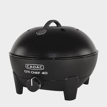 Black Cadac Citi Chef 40 Table Top Gas BBQ