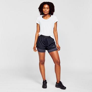Black Ronhill Women's Tech Twin Short